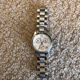 Michael Kors Accessories   Michael Kors Chronograph Metal Bracelet Watch   Color: Silver   Size: Os