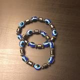 Anthropologie Jewelry | Evil Eye Bracelets | Color: Brown/Tan | Size: Os