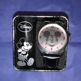 Disney Accessories | Collectible Pre-Owned Disney Mickey Mouse Watch | Color: Black/Red | Size: Os