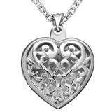 Giani Bernini Jewelry | Giani Bernini Sterling Silver Heart Locket | Color: Silver | Size: Os