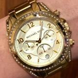 Michael Kors Jewelry | Michael Kors Watch | Color: Gold | Size: Face + 13 Links