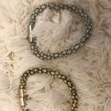 Anthropologie Jewelry   Magnetic Closure Anthropologie Bracelets   Color: Blue/Yellow   Size: Os