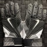 Nike Accessories | Nike D-Tack Padded Lineman Gloves Sz 3xl | Color: Black/White | Size: 3xl