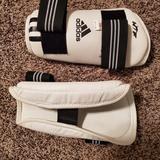 Adidas Other | Taekwondo Adidas Arm Protector | Color: Black/White | Size: Medium