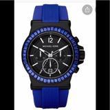 Michael Kors Accessories | Michael Kors Unisex Watch | Color: Blue | Size: Large
