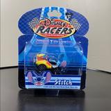 Disney Other | Disney Racers 164 Scale Diecast Car Stitch | Color: Blue/Yellow | Size: Single Diecast Car