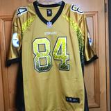 Nike Shirts   Nike Antonio Brown Pittsburgh Steelers Nfl Jersey   Color: Black/Yellow   Size: 48