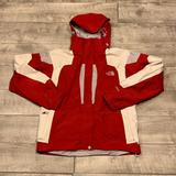 The North Face Jackets & Coats | North Face Red Women Parka Jacket Medium | Color: Red/White | Size: M