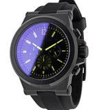 Michael Kors Accessories | Michael Kors Dylan Black Dial Chronograph Watch | Color: Black | Size: Os