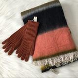 Madewell Accessories | Madewell Scarf And Gloves | Color: Tan | Size: See Description