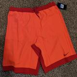 Nike Swim | Nike Ombre Swim Racer 11 Volley | Color: Orange/Red | Size: Xl