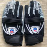 Nike Accessories | Nike Nfl Gloves | Color: Black/Gray | Size: Xxlarge