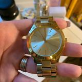 Michael Kors Accessories   Michael Kors Gold Watch Runway   Color: Gold   Size: Os