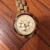 Michael Kors Accessories | Michael Kors Watch | Color: Cream | Size: Os