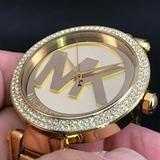 Michael Kors Accessories   Michael Kors Mk-5784 Water Resistant Watch   Color: Gold   Size: Os