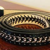Nine West Accessories   New Nine West Black & Silver 40 Belt   Color: Black/Silver   Size: 40