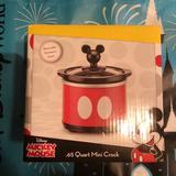 Disney Kitchen | Mickey Mini Crock | Color: Red | Size: .65 Qt