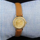 Disney Accessories | Ladies Vintage Mickey Mouse Watch | Color: Brown/Gold | Size: Os