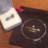 Kate Spade Jewelry | Kate Spade Ring & Bracelet Set | Color: Silver | Size: 6