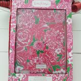 Lilly Pulitzer Accessories | Lilly Pulitzer Ipad Cover New | Color: Green/Pink | Size: Os