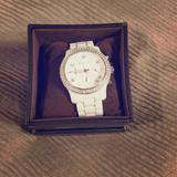Michael Kors Accessories   Michael Kors White Ceramic Watch   Color: White   Size: Os