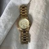Michael Kors Accessories | Michael Kors Gold Fashion Watch | Color: Gold | Size: Os