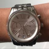 Michael Kors Accessories   Michael Kors Silver Watch   Color: Silver   Size: 38mm