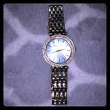 Michael Kors Accessories | Flash Sale Michael Kors Darci Gold Watch | Color: Blue | Size: Os