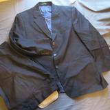 Ralph Lauren Suits & Blazers   Mens Ralph Lauren 3 Button Pinstripe Wool Suit 44r   Color: Blue   Size: 44r