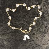 Kate Spade Jewelry   Nwt Kate Spade Cleat Ball Goldtone Chain Necklace   Color: Gold   Size: 35