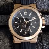 Michael Kors Accessories | Michael Kors Mk8184 Dylan Men'S Chronograph Quartz | Color: Black/Gold | Size: Os