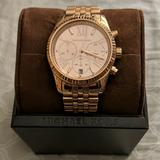 Michael Kors Accessories   Michael Kors Rose Gold Toned Watch   Color: Gold   Size: Os