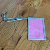 Victoria's Secret Accents   Hanging Lanyard Frame, Victorias Secret   Color: Pink/Silver   Size: 6x8