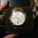 Michael Kors Accessories | Mens Michael Kors Gold Tone Watch | Color: Gold | Size: Os