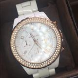 Michael Kors Accessories   Michel Kors Watch   Color: White   Size: Os