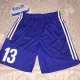 Adidas Bottoms | Kids Adidas Soccer Shorts | Color: Blue/White | Size: Lb