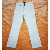 Ralph Lauren Pants & Jumpsuits | Lauren Jeans Co. White Straight Leg Pants | Color: White | Size: 12p