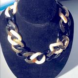 Kate Spade Jewelry | Kate Spade - Multi-Tone And Gold Link Necklace | Color: Brown/Gold | Size: Os