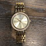 Michael Kors Accessories   Michael Kors Watch M3191 Gold Watch Darci Quartz   Color: Gold   Size: Os