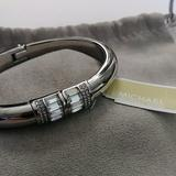Michael Kors Jewelry   Michael Kors Silvertone Baguette Magnetic Bracelet   Color: Silver   Size: Os
