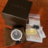 Michael Kors Accessories   Michael Kors Black Ceramic Band   Color: Black   Size: Links