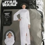 Disney Other | Star Wars Princess Leia Adult Costume! New! | Color: White | Size: Various