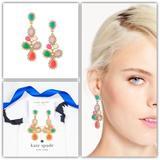 Kate Spade Jewelry | Kate Spade Balloon Bouquet Chandelier Earrings | Color: Gold/Orange | Size: Os