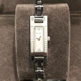 Gucci Accessories | Gucci Diamond & Mother Of Pearl Watch 3900 Series | Color: Silver | Size: Os
