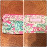 Lilly Pulitzer Accessories | Lilly Pulitzer Wallet- Id Holder- Key Chain | Color: Green/Pink | Size: Os
