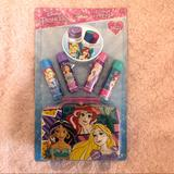 Disney Other | Disney Princess Lip Balm Set | Color: black | Size: Osg