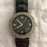 Michael Kors Accessories   Michael Kors Black Ceramic Watch   Color: Black   Size: Os