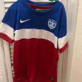 Nike Shirts & Tops   Nike Kid Usa Soccer Jersey Shirt   Color: Blue/Red   Size: Mg