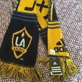 Adidas Accessories   La Galaxy Mls Soccer Scarf - Brand New   Color: Blue/Yellow   Size: Os