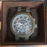 Michael Kors Accessories | Michael Kors Watch | Color: Green/Silver | Size: Os
